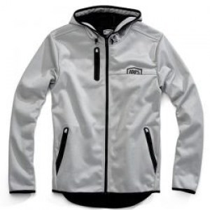 100-percent-mission-hooded-softshell-zip-jacket-grey